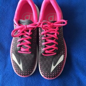 4d28907f291 Brooks Shoes - Brooks® Pure Flow 5 Running Shoe Hot Pink   Gray!